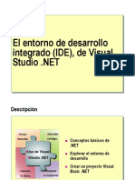 Entorno de Visual Basic .Net
