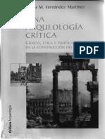 Fernández Martínez 2006 Arqueología y Feminismo