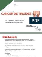 SEMANA 3 CLASE N° 4 CANCER DE TIROIDES