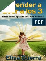 Aprender a Leer a Los 3_ Metodo - Elisa Guerra