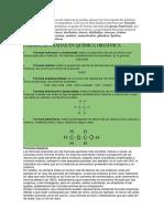 El Elevado Número de Sustancias Orgánicas Se Pueden Agrupar Por Sus Propiedades Químicas Semejantes En