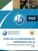 Perfil Del Bachillerato Internacional
