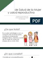 Programa de Salud de La Mujer Cuidados Salud Familiar