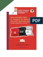REGLAMENTO PARA EL MANEJO DE DESECHOS SOLIDOS HOSPITALARIOS.pdf