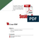 Manuales_Adobe Acrobat XI_Sesión 2 Adobe Acrobat XI Pro