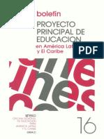 Proyecto Principal de Educación en America Latina y el Caribe