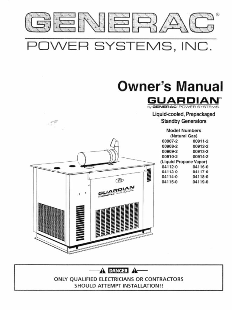 10 Kw Generac Wiring Diagram Generator Installation Guardian Automatic Transfer Switches