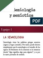 Semiologia y Semiotica