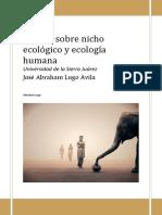 207318685 Ensayo Nicho Ecologico Docx