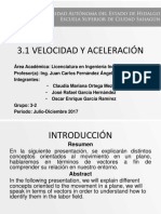 Vector Posicion Yv Mc on Formulas
