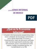 Economia Informal en Mexico