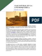 Usos Del Gas Natural en La Industria Petroquimica