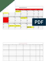 Calendario Pruebas Octubre Alex Ponce