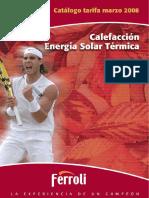Ferroli calefaccion 2008