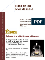 2016 Abril Trazabilidad Masa CENAM