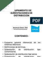 Equipamiento de Subestaciones de Distribución