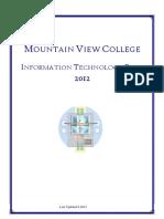 2010 - 02 - ITPlan Mountain View College