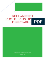 Reglamento Field Target