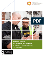 How to Teach Vocational Education