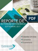 Reporte Economico Septiembre 2017
