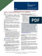 Xg1 en Residence Permit Authorisation Volunteer