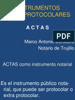 Actos Protocolares