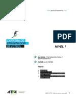 Prep Física y Entrenamiento I v 17 Clase 3