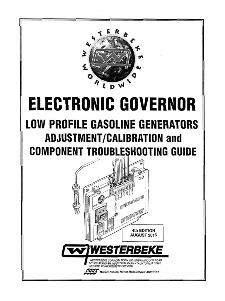 Westerbeke Govenor Wiring Diagram on