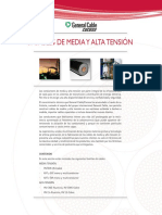 Catalogo Cables Media y Alta Tension