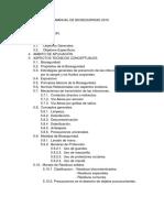 Manual de Bioseguridad 2015 .