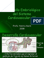 Desarrollo Embriológico Cadiovascular II