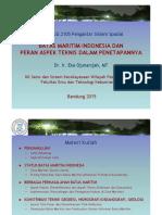 Batas Maritim Indonesia Dan Peran Aspek Teknis PSS 2015 Compatibility Mode