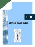 13 Concentracion Molar