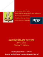 EEH-aula 11 -2015 - Interação genes cultura - sociobiologia revista.pptx