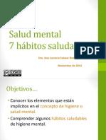 7 hábitos saludables de Salud Mental UNACH 2016.pptx