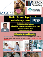 Build Brand Equity of Veterinary Practice by Dr.Jibachha Sah