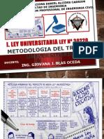 i. Ley Universitaria