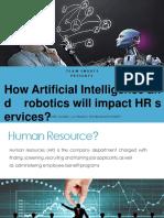 Artificial Intelligence In HR