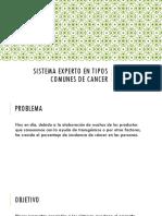 Sistema Experto en Tipos Comunes de Cancer