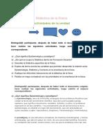 Actividades de Didactica de La Física S1