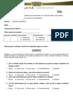 Cuestionario, Guía de Obs y Guía de Entrevista