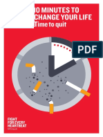 10 Minutes to Change Your Life-time to Quit