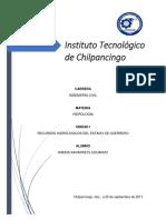 Recursos Hidrologicos Guerrero