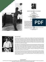 Sai-Karate Weapon of Self-Defense