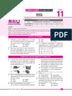 Nco Sample Paper Class-11