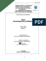 00824 Programacion Intermedia