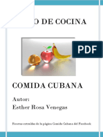 Recetas de Comidas Cubanas