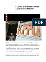 Main Tender Listrik Di Sumatera Utara