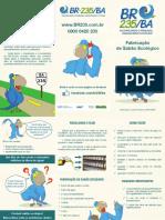 Folder Sabao Ecologico