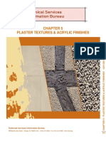 Plaster Assemblies Chapter 05 Textures